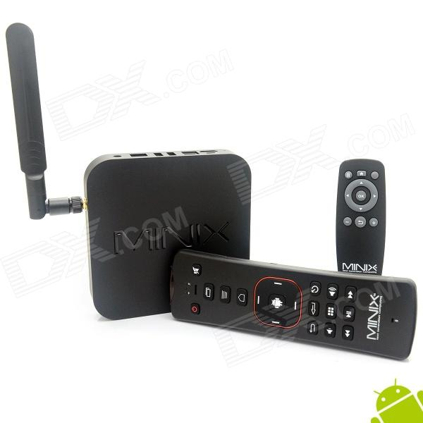 MINIX NEO X8 Quad-Core Android 4.4.2 Google TV Player + A2 Air Mouse w/ 2GB RAM, 8GB ROM minix neo x8 plus android 4 4 tv box hd media streaming player 4k 2gb 16gb2 band wi fi bt4 0 w a2 lite keyboard air mouse