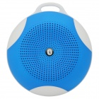 Outdoor Sports 3W Bluetooth V3.0 + EDR Speaker with FM Radio / AUX / TF / Microphone - Blue