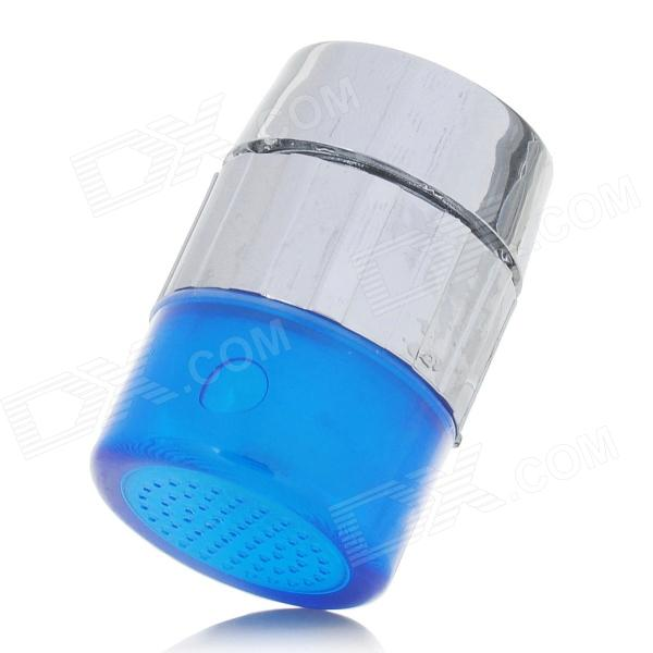 S-01 Temperature Controlled Sensor RGB LED Faucet - Silver + Blue