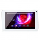 "PH20pro 7"" Dual Core Android 4.2 Tablet PC med 4GB ROM, Wi-Fi, mikrofon, TF, Dual-kamera - hvit + sølv"