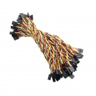 Dupont 4-Pin 2.54mm Female to Female Extension Wire Cable (50PCS)