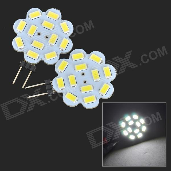 JRLED G4 4W 260lm 12-5730 SMD LED Cold White Light Module (2st)