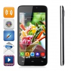 "JIAKE V3 Android 4.2.2 Quad-core WCDMA Bar Phone w/ 4.5"" Screen, Wi-Fi and GPS - Black"