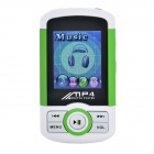 "1.8"" TFT Multimedia MP4 Player w/ TF / FM - White + Green + Black (4GB)"
