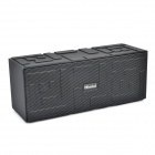 IP4 Oblong Shaped Bluetooth V4.0 Wireless Music Speaker w/ TF / Mic / Handsfree Call - Black