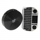 iTaSee S82 4K Quad-Core Android 4.4.2 Google TV Player w/ Bluetooth, XBMC, NETFLIX + I8 Keyboard