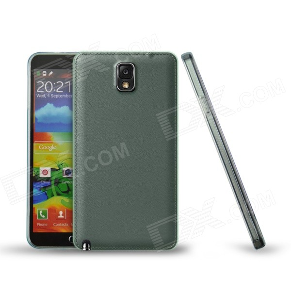 Ultra-thin Protective TPU Back Case for Samsung Note 3 N9000 - Transparent