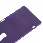 Fashionable Super Thin Protective Glaze PC Back Case for HTC ONE MAX / T6 - Purple