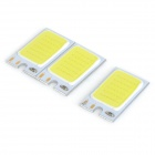 JRLED 1.2W 130lm COB Light Module w/ Bluish White Light (DC12V / 3PCS)