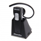 Bluedio 99B Bluetooth V3.0 Stereo Headset - Black