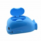 Creative Whale Design Household Tissue Box - Blue + Black