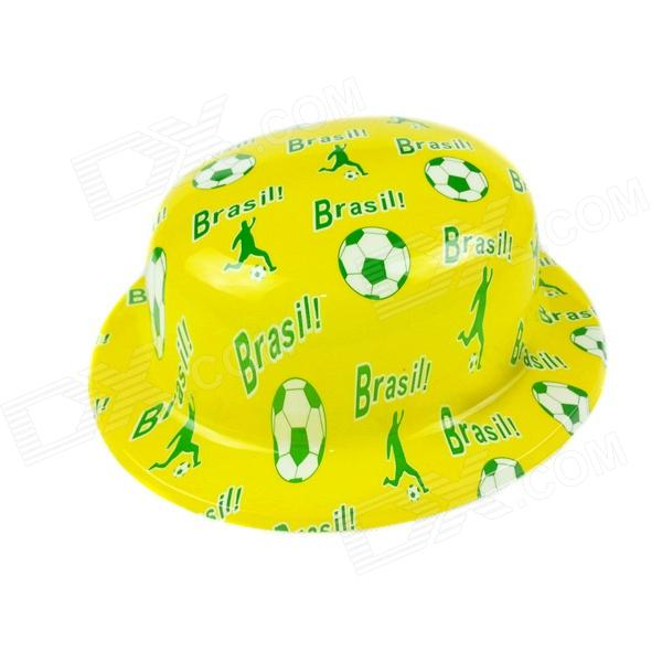 Brazil's National Flag Hat - Yellow