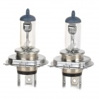 NARVA H4 60/55W 500lm 4200K Warm White Light Halogen Light - Transparent + Silver (12V / 2PCS)