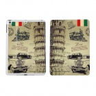KAKUSIGA Leaning Tower Pattern PU Leather Case Cover Stand for RETINA IPAD MINI / IPAD MINI - Beige