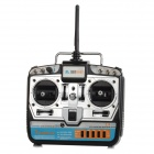 9-CH Digital Wireless Remote Control / Transmitter w/ Receiver for R/C Toys - Black + Silver