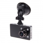 "J2000 3.0"" TFT 3.0 MP 170 Degree Wide Angle HD Car DVR w/ 4-IR LED, G-sensor - Black + Silver"