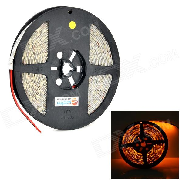ZDM 72W 150LM 300-5050 SMD LED High Brightness Yellow Light Strip - White (DC 12V / 5m) zdm 5m 300 leds strip light with remote control