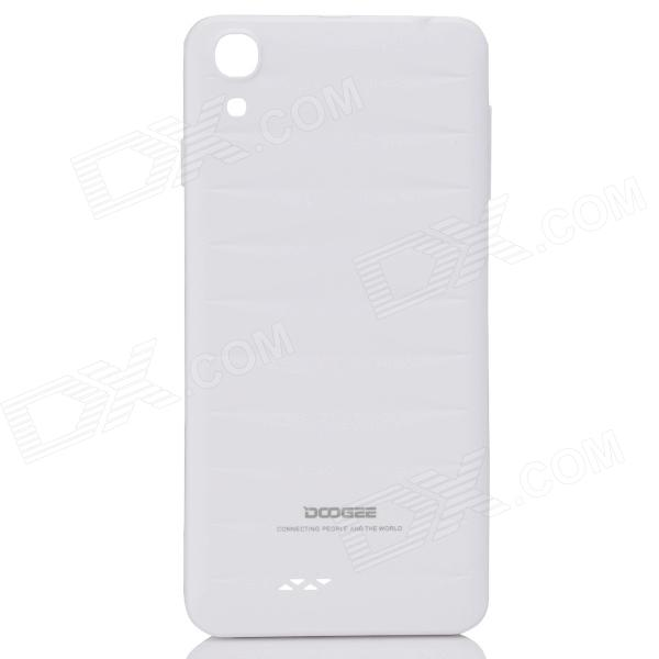DOOGEE VALENCIA DG800 Replacement Battery Back Cover Case - White doogee valencia dg800 replacement battery back cover case white