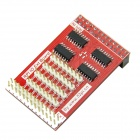 Unlimited Cascading IO Expansion Board for Raspberry PI - Red