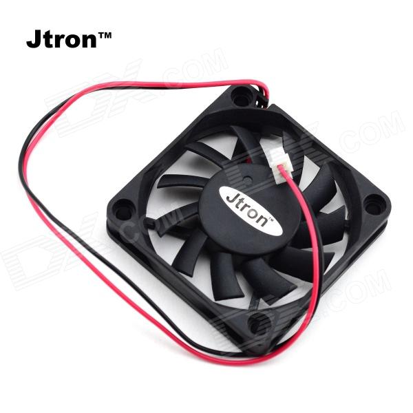 Jtron DC 5V / 0.15A Cooling Fan - Black jtron40210021 dual ball bearing mini cooling fan black dc 24v