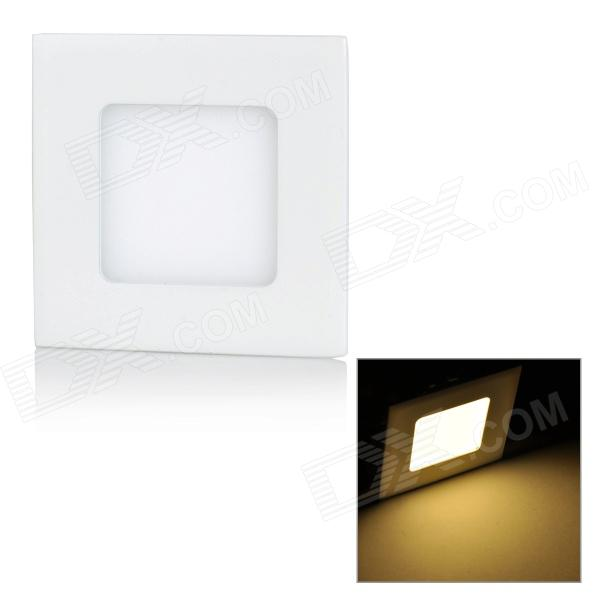 MLSLED MLX-FPD-1-3 3W 280LM 3500K 15-2835 LED Warm White Light Square Ceiling Panel Lamp (100~265V)