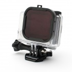 Underwater Dive Filter Converter for GoPro Hero 4 / 3+ - Black + Red