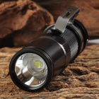UltraFire V10 LED 350lm 3-Mode Cool White Flashlight - Black (1 x CR123A / 1 x 16340)