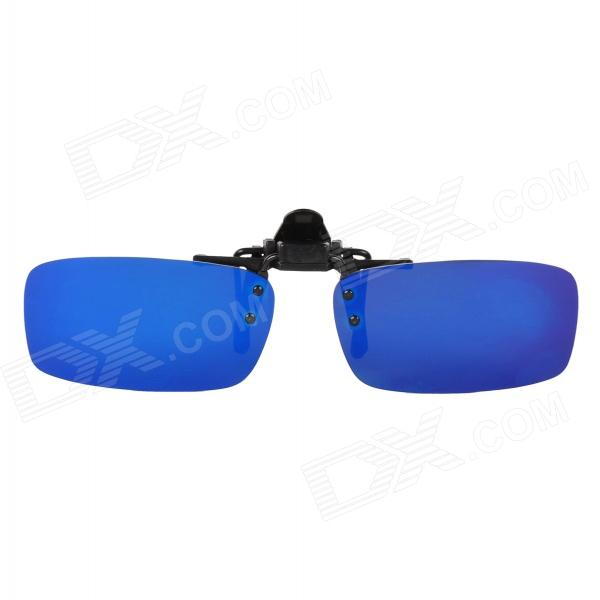 Oreka 204 Clip-on Polaroid Polarized Resina Lens Sports Sunglasses - Azul REVO