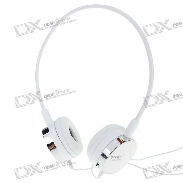 Gorsun PC/Laptop Headset with Removable Microphone and Volume Control (2*3.5mm/2.2M Cable)