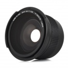 Universal 0.35X HD Fisheye Lens for Nikon D5200 / D3100 + More - Black (52mm)