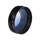 HighPro 37mm Graduated Gradual Color Blue filter Lens w/ Flip Converter for GoPro Hero 3 / 3+