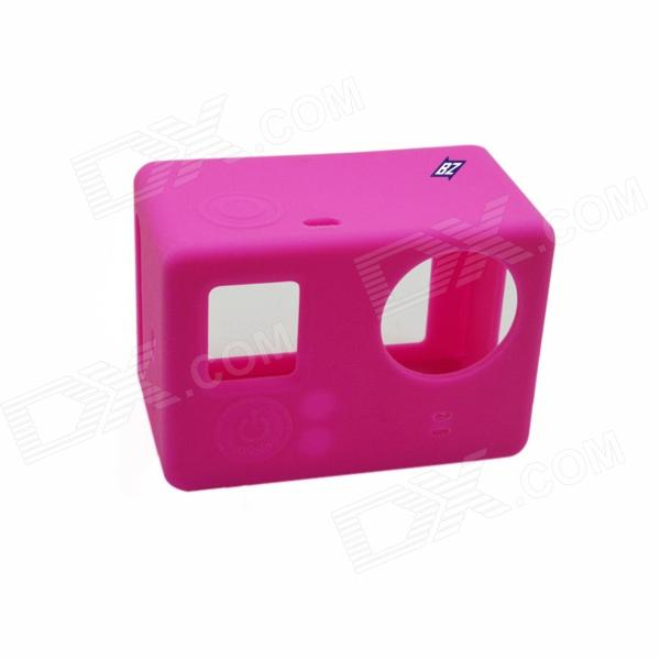 BZ BZ131 Protective Silicone Case for GoPro Hero 3+ / 3 / SJ4000 - Deep Pink