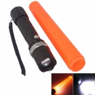 1-LED 240lm 3-Mode White Tactical Flashlight w/ Light sticks - Black (1 x 18650)