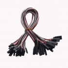 TENYING TY03 32cm 3-Pin Servo Leads Connection Extension Cables for Helicopter - (20 PCS)