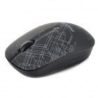 FMOUSE M101 USB 3,0 2,4 G 1600dpi ergonomico Mouse Wireless w / ricevitore - nero (1 x AA)