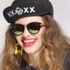 Reedoon 1417 Trend Of The Goddess Hip Hop Sunshade Sunglasses - Black + Golden