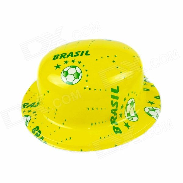 Brazil's National Flag Hat - Yellow + Light Green