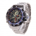 BESNEW BN-0798 Multifunctional Men's Sports Digital + Quartz Wrist Watch for Men