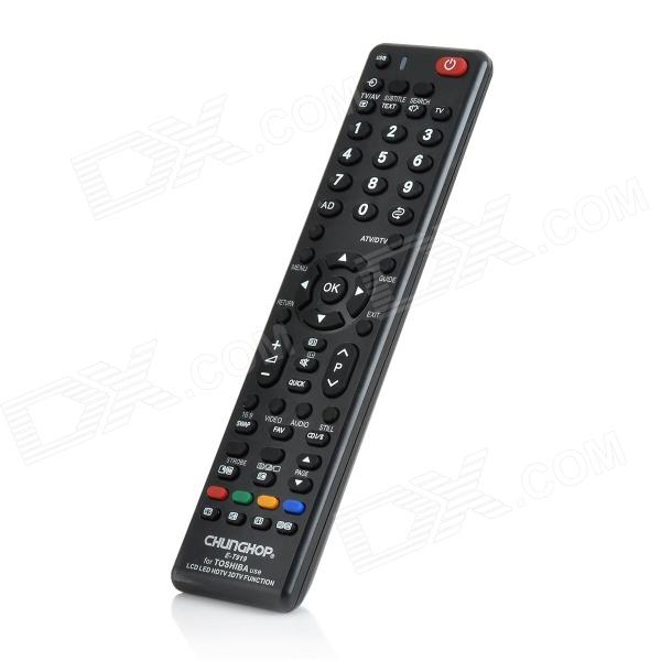 E-T919 Universal LCD / LED / HD TV Remote Controller for TOSHIBA - Black (English) (2 x AAA) tfb3094as fmx43p004r flyback transformer for toshiba rear projection tv