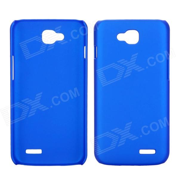 все цены на EPGATE A00487 Rubberized Matte Snap-On Glossy Slim Case for LG Optimus L90 D410 D405 - Blue онлайн