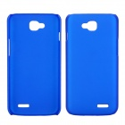 EPGATE A00487 Rubberized Matte Snap-On Glossy Slim Case for LG Optimus L90 D410 D405 - Blue