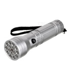 3-in-1 15 + 1 Taschenlampe 3xAAA (10 weiße LED - 5 UV-LED - Red Laser)