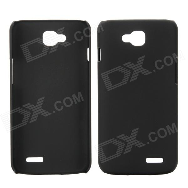 все цены на EPGATE A00487 Rubberized Matte Snap-On Glossy Slim Case for LG Optimus L90 D410 D405 - Black онлайн