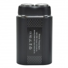M66 5200mAh Li-ion batterie Portable Power Bank + 2-Head alternative flottant rasoir électrique rasoir