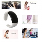EPGATE D00182 Smart Bluetooth V3.0 Handsfree Bracelet Watch Music Player w / anti-perdue - blanc