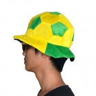 OUMILY 2014 World Cup Brazil Clown Show Party Hat Cap - Yellow + Green