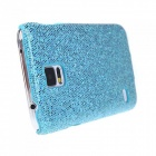 Protective Glitter Bling PC Back Cover Shell Case for Samsung Galaxy S5 - Blue