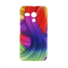 Kinston Colorful Ribbon Pattern Plastic Hard Case for Motorala Moto G