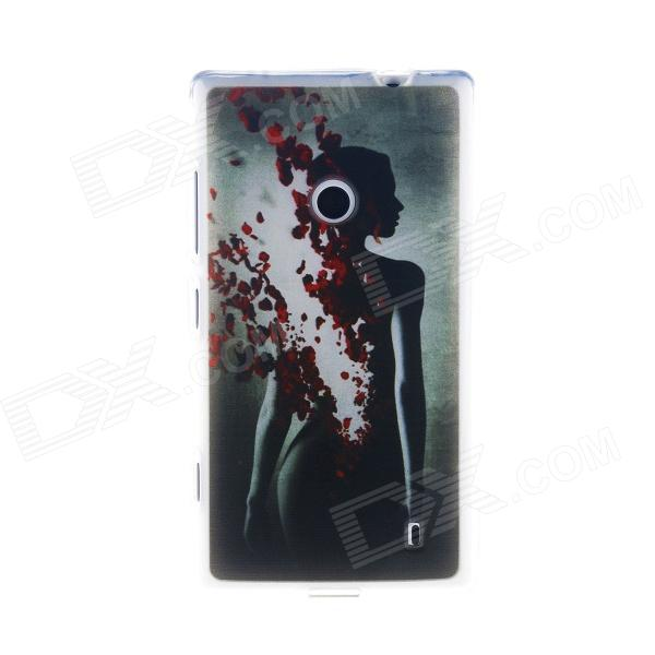 Kinston Love Fission Pattern TPU Soft Case for Nokia Lumia 520