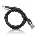 Pinjie JP-03 Universal USB Male to Micro USB Male Data Sync & Charging Cable for Cellphone (103cm)